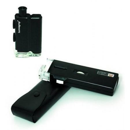Microscopio 60X 80X 100X con luz. Accesorios