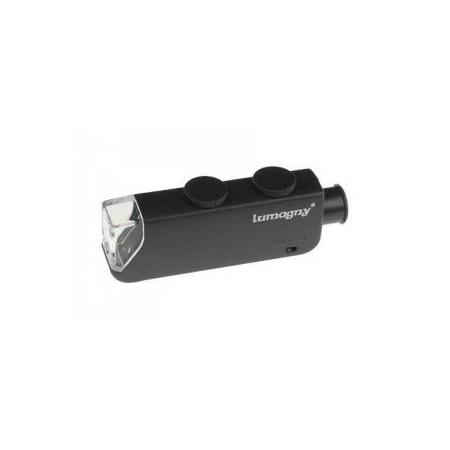 Mini Microscopio 60X 100X led. Accesorios