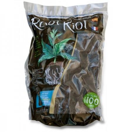 Esponjas Root riot 100 unidades. Raiz