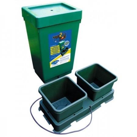 Sistema Autopot 2 Macetas. Sistema de cultivo