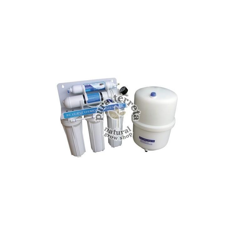 Filtro de osmosis 5 etapas con deposito