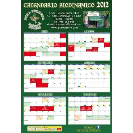 Calendario de cultivo 2012