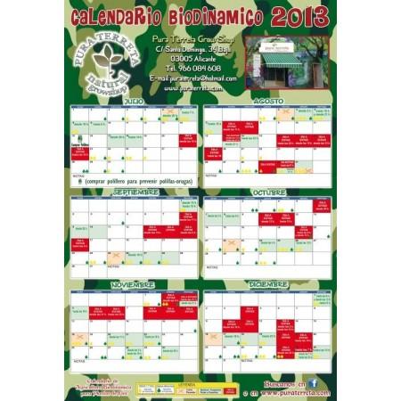 Calendario de cultivo 2013.