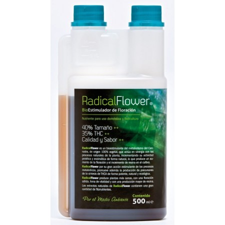Radical flower. 500ml.