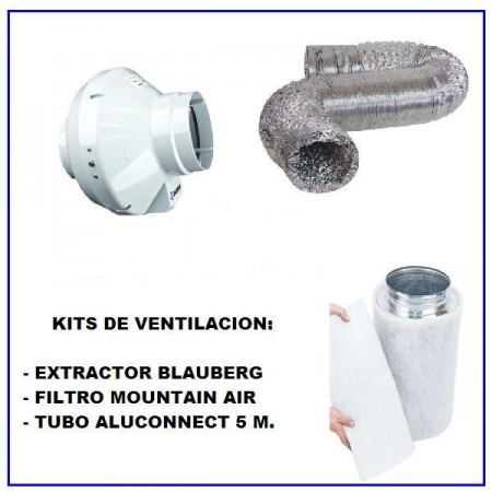 Kits de ventilacion 100