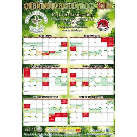 Calendario de cultivo 2014