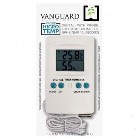 Termohigrómetro Vanguard con sonda