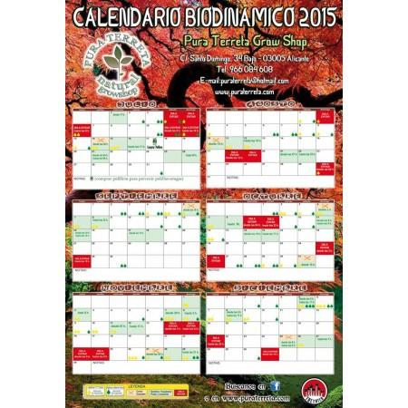 Calendario de cultivo 2015