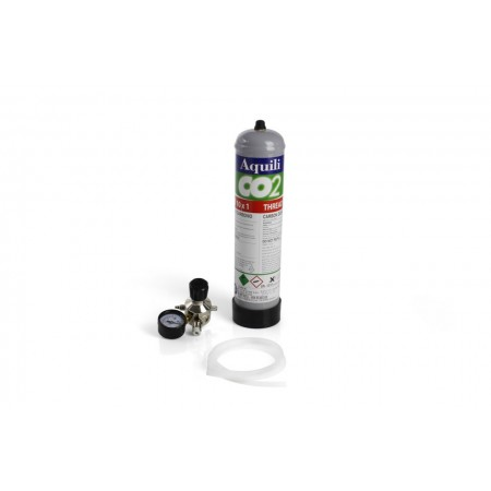 Kit Co2 con botella desechable 0,5 kg