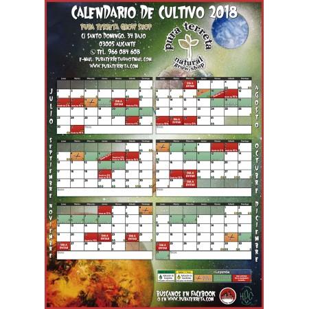 Calendario de cultivo 2018