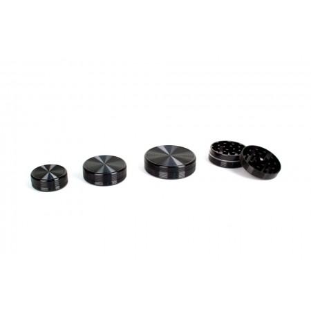 Grinder negro circulo 40mm