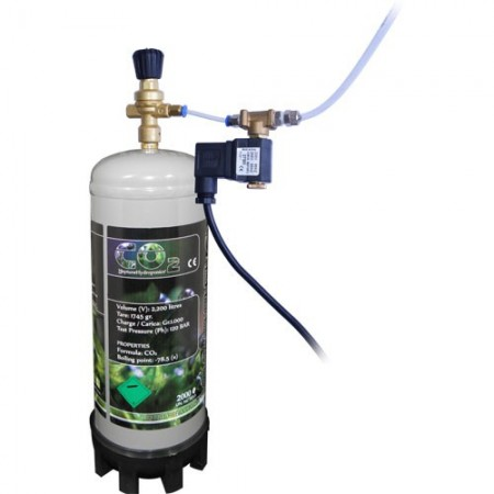 Kit Co2 con botella desechable 1 kg