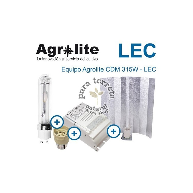 LEC Agrolite 315W Mágnetico