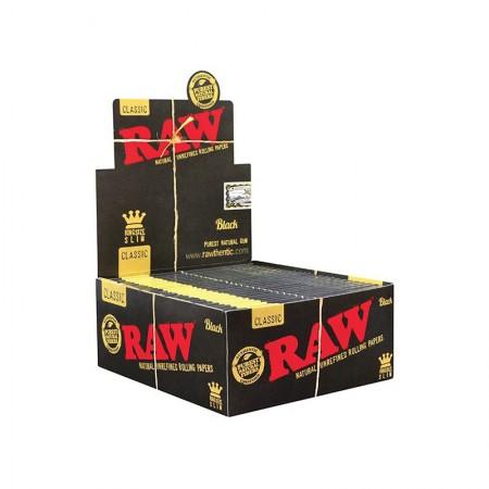 Papel RAW Black Slim