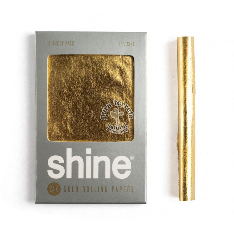 Shine Gold 24K 1.1/4 2 unidades