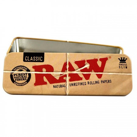 Raw Tin Cone Caddy K.S