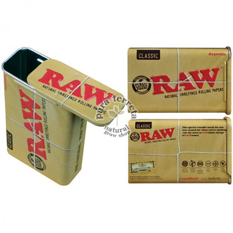 Raw Slide Top Tin