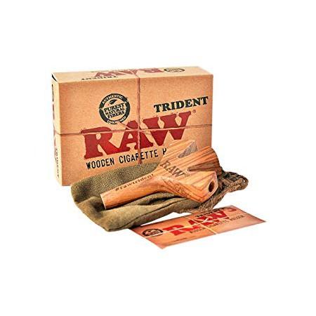 Pipa Raw Trident Wooder Triplete Raw