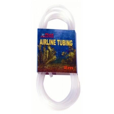 Tubo atoxico de silicona.