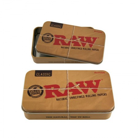 Caja rectangular Raw