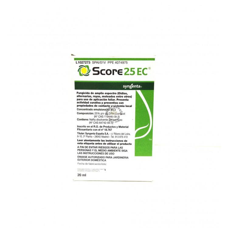 Fungicida Score 25 EC