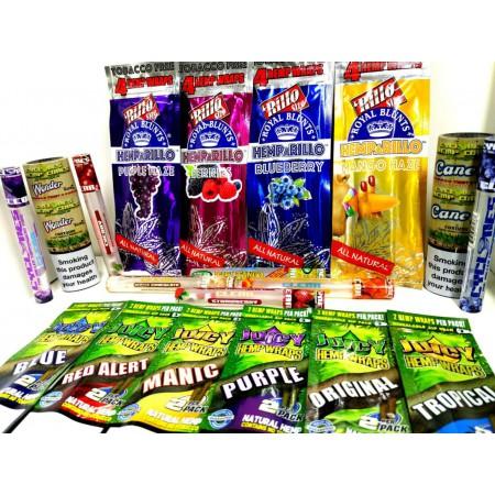 Pack papeles de sabores Pro
