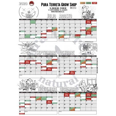Calendario de cultivo 2020