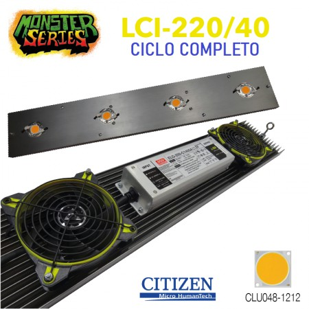 Sistema LED Monster LCI-220W/4000K