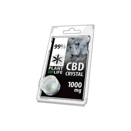 Cristales de CBD isolado 99% Plant of Life