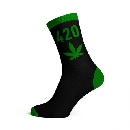 Calcetines 420 verde hombre