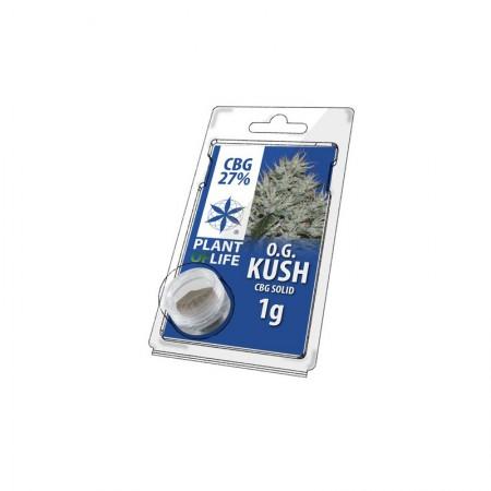 Solid CBG 27% OG Kush Plant of Life