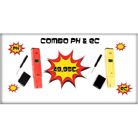 Combo Ph & EC Vanguard Hidroponic